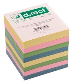 D.Rect Cube Note 85x85x80mm Mix Color