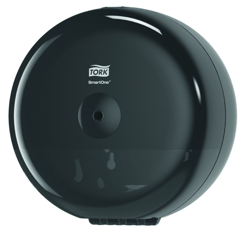Tork SmartOne Mini Toilet Roll Dispenser Black