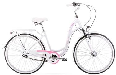 """Jalgratas Romet Symfonia 2.0 2126563, valge/roosa, 19"""", 26"""""""