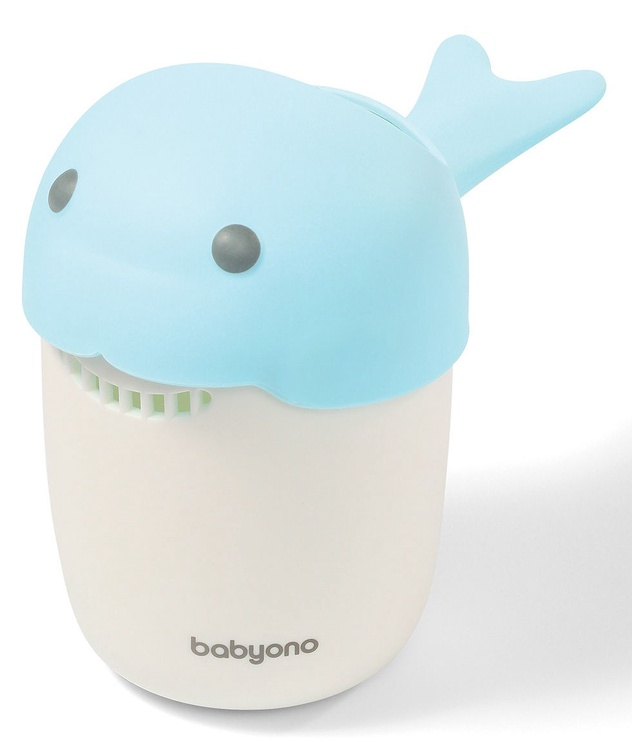 BabyOno Whale Hair Rinse Cup Blue