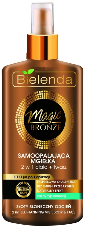 Bielenda Magic Bronze Self Tanning Mist 2 In 1 Body & Face 150ml