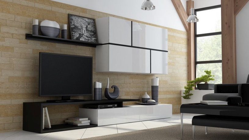 Cama Meble Modular System Goya White/Black