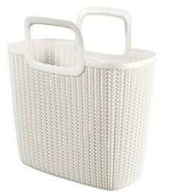 Curver Shopping Bag Knit Lily 25L 42x29x45cm White