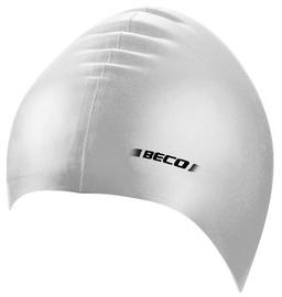Beco Swimming Cap Silicone 7399 Silver