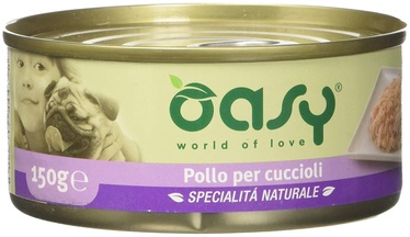 Oasy Wet Puppy Chicken in Jelly 150g