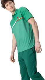 Audimas Mens Functional Polo Tee With Print Jolly Green M