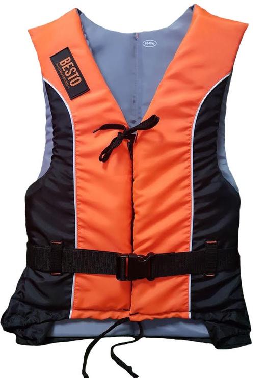 Besto Dinghy 50N Zipper L 60-70kg Orange Black
