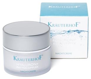 Крем для лица Krauterhof Hyaluron + Phytocomplex Night Cream, 50 мл