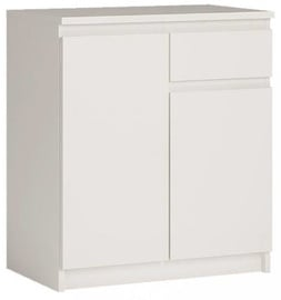 Комод WIPMEB Armadio A1 2D 1S White, 73x35x85 см