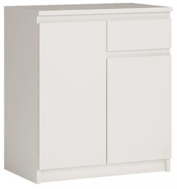 Kummut WIPMEB Armadio A1 2D 1S White, 73x35x85 cm