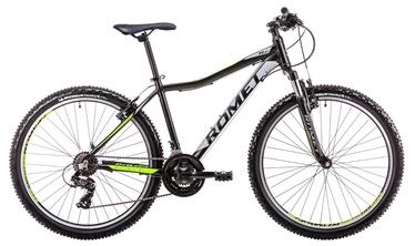 """Jalgratas Romet Rambler R6.1 JR 17"""" 26"""" Black Neon Green 19"""
