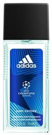 Meeste deodorant Adidas UEFA Champions League Dare Edition Spray, 150 ml