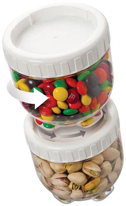 Lock&Lock Food Container Set Interlock 4PCSx500ml