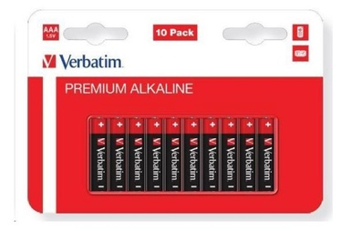 Verbatim Alkaline Battery AAA 10pcs
