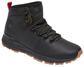 DC Shoes Muirland Lace-Up Leather Boots Black 42.5