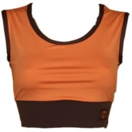 Bars Womens Top Brown/Orange 113 L