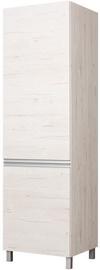 Bodzio Right Door Wardrobe Monia 60cm Pearl Soma Oak