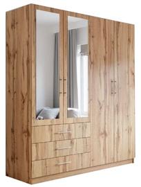 Stolar Pekin D4 Wardrobe 196x215x60cm Oak