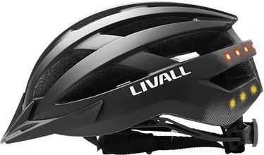 Kiiver Livall MT1, must, 580 - 620 mm
