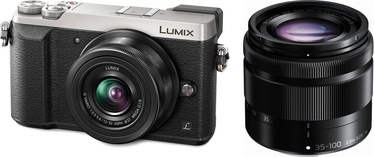 Panasonic Lumix DMC-GX80 + 12-32mm + 35-100mm Kit Black/Silver