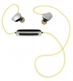 Kõrvaklapid iBOX X1 Yellow/Gray, juhtmevabad