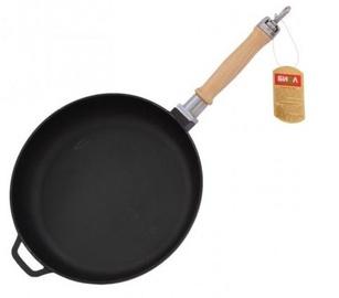Biol Cast Iron Pan With Removable Handle D28cm