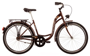 "Jalgratas Kenzel Dream 1V 28"" Brown 18"
