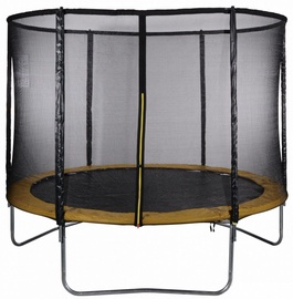 Tesoro Garden Trampoline 312cm Net/Ladder Yellow