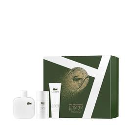 Набор мужской парфюмерии Lacoste Eau De Lacoste L.12.12 Blanc 3pcs Set EDT