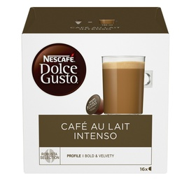 Kohvikapslid Nescafe Dolce Gusto Cafe Au Lait Intenso 160 g., 16 tk.