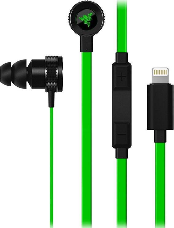 Kõrvaklapid Razer Hammerhead iOS Green
