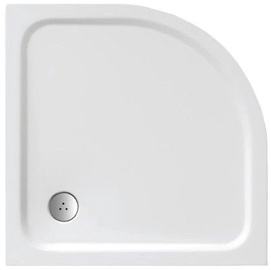 Ravak Elipso Pro Chrome Shower Tray White