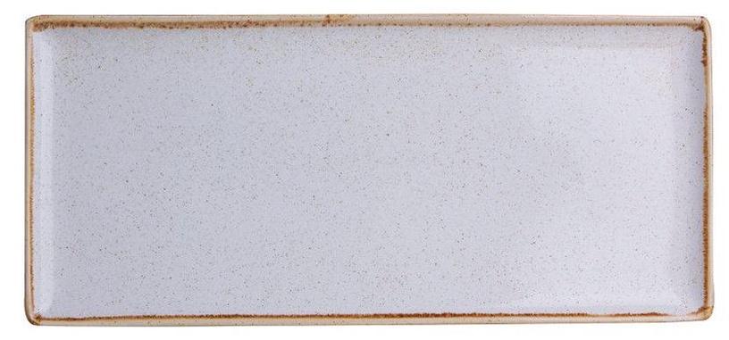 Porland Seasons Serving Plate 16.1x35.3cm Grey