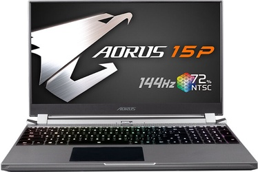 "Sülearvuti Gigabyte Aorus 15P KB-7DE1130SH Intel® Core™ i7, 8GB, 512GB, 15.6"""
