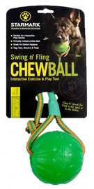 Starmark Swing 'n Fling Chew Ball Green