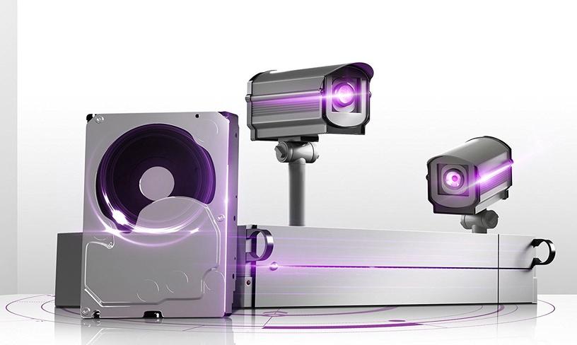 Western Digital Purple Series 10TB 5400RPM SATAIII 256MB Surveilance Hard Drive WD100PURZ