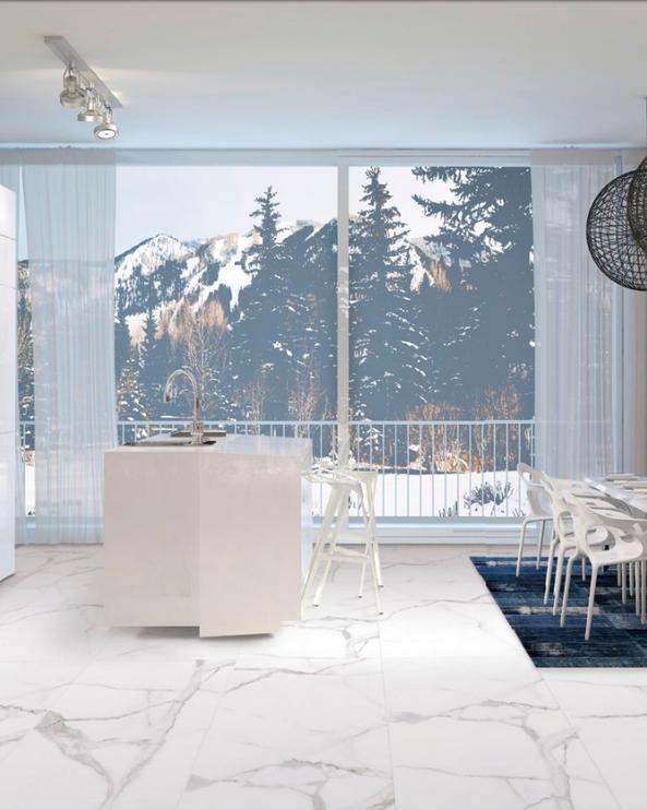 SN Floor Tiles Alsacia 60x60cm White