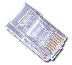 Gembird Modular Plug 8P8C Gold Plated x 100