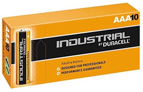 Duracell Industrial LR03 AAA Alkaline Battery 10pcs