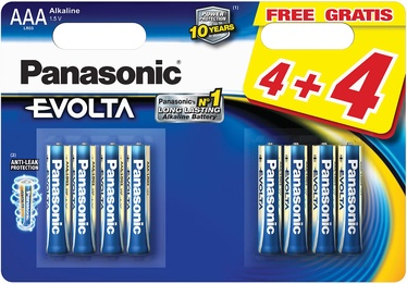 Patarei Panasonic Evolta AAA 8tk
