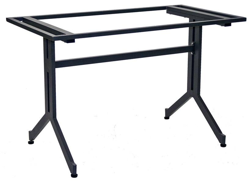 Evelekt Table Leg Grey Aluminium