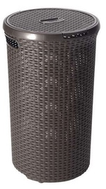 Curver Rattan Style Round 48l Brown