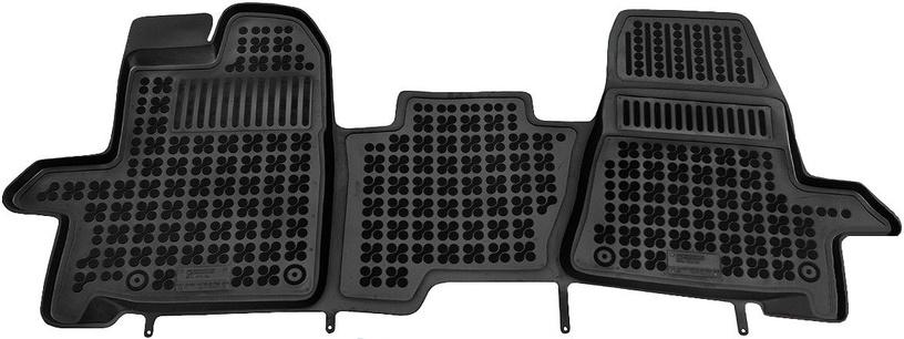 REZAW-PLAST Ford Transit Custom 2013 Front Rubber Floor Mats