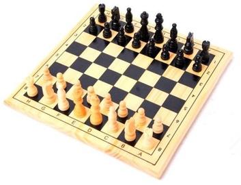 Lauamäng Gerardos Toys Wooden Chess & Checkers, EN/EE/LV/LT/RUS