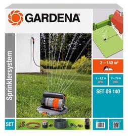 Gardena Complete Set with Oscillating Pop-up Sprinkler