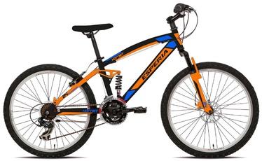"""Jalgratas Esperia Full, oranž, 24"""", 24"""""""