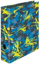 Herlitz Lever Arch File A4 Camouflage Yellow