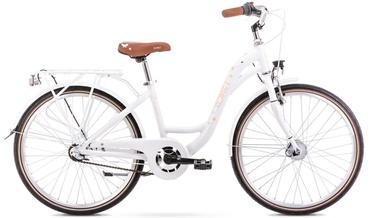 Laste jalgratas Romet Panda 1 13'' 24'' Pink/White 21