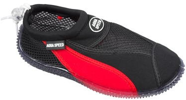 Aqua Speed Beach 11 Black Red 35