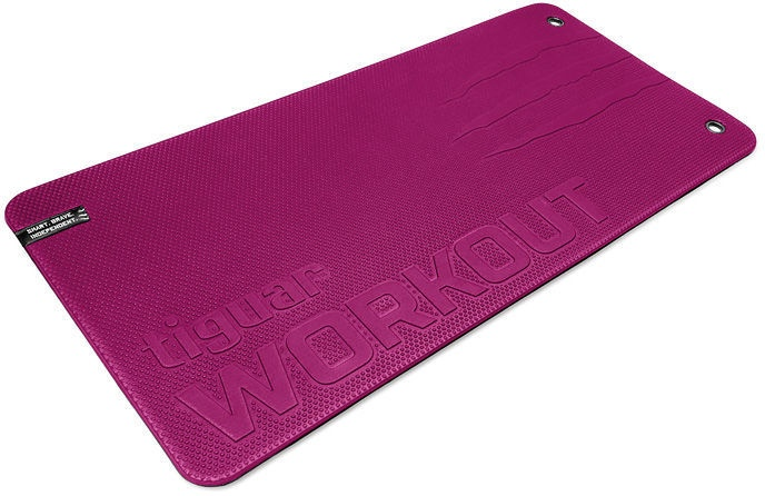 Tiguar Workout II Mat 100x50cm Purple